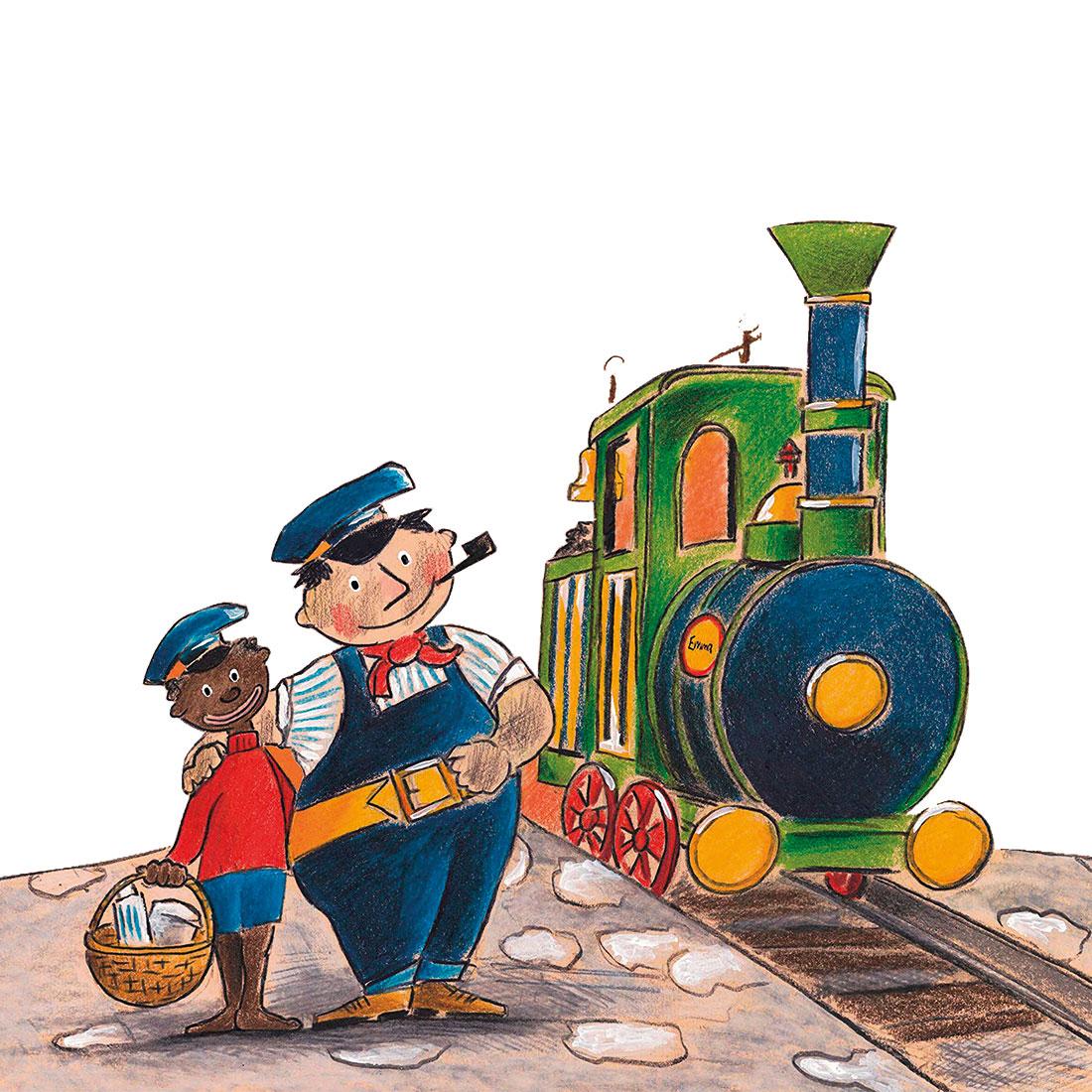 jim knopf und lukas der lokomotivführer machen einen